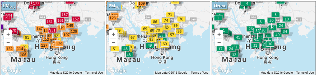 The Map Tile Api Can Be Used To Show The Real Time Air Quality Index On A Google Bing Or Openstreet Map Read More About The Map Tile Api Description And