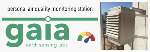 Gaia personal air quality monitoring station