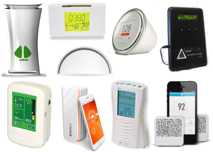 Gaia Air Quality Monitors - Product Series